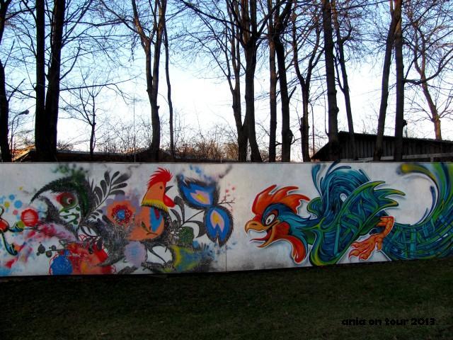 Szyldy i malowid a bia ystok wed ug ani for Mural bialystok dziewczynka z konewka