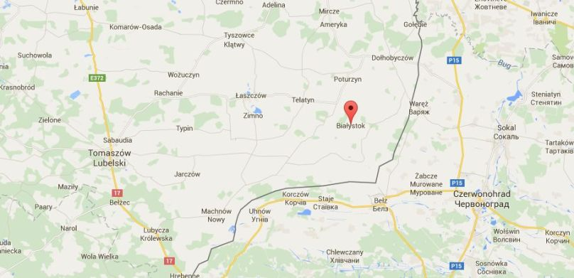 Białystok_google_mapa